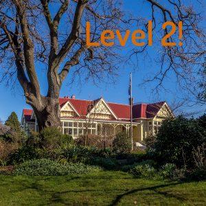 Covid Level 2 Starts 8 Sept